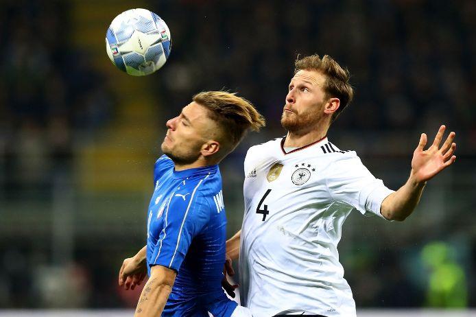 Spielszene Länderspiel Deutschland gegen Italien