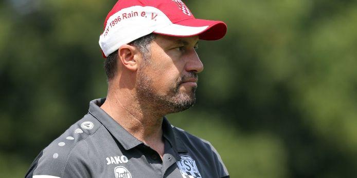 Trainer Dominik Haußner