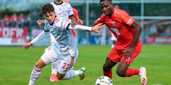 Spielszene Buchbach - Bayern München II