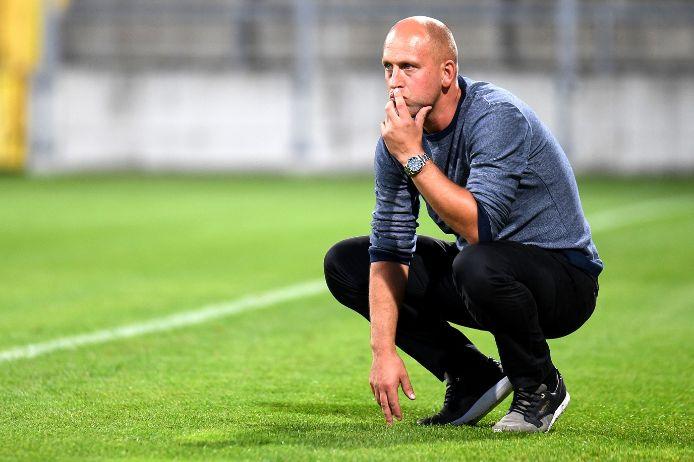 Trainer Timo Rost empfängt am Freitag mit der SpVgg Oberfranken Bayreuth den FV Illertissen.