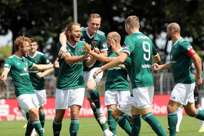 Jubel beim 1. FC Schweinfurt 05