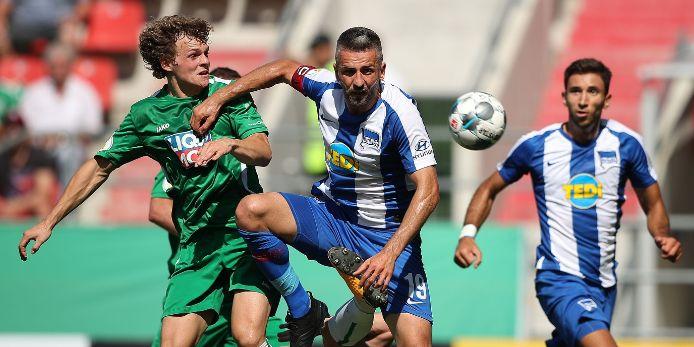 Spielszene DFB-Pokal 2019/20 Eichstätt Hertha BSC Berlin