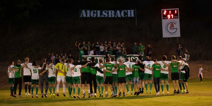 Der TV Aiglsbach schlägt den VfB Eichstätt und steht sensationell in der 2. Runde des Toto-Pokal-Wettbewerbs 2019/20.