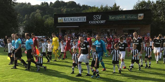 SSV Kasendorf, Würzburger Kickers, Toto-Pokal