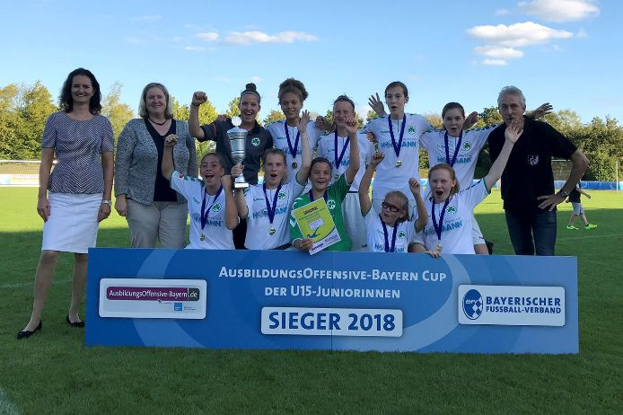 AusbildungsOffensive-Bayern Cup 2018 - Sieger: SpVgg Greuther Fürth