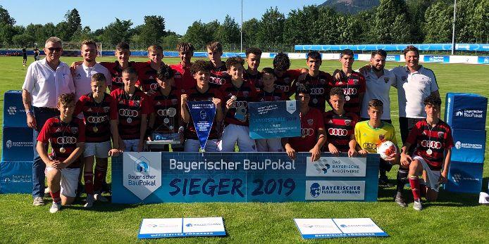 BauPokal, Gewinner FC Ingolstadt 04, U15-Junioren