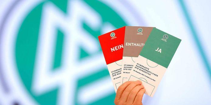 Stimmkarten DFB-Bundestag 2019