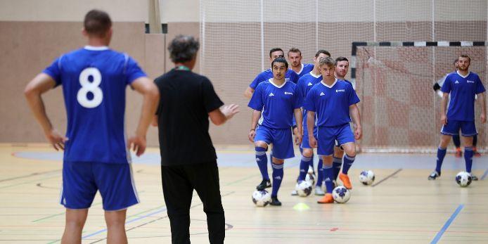 Futsal, Futsal-Training, BFV-Talentförderung
