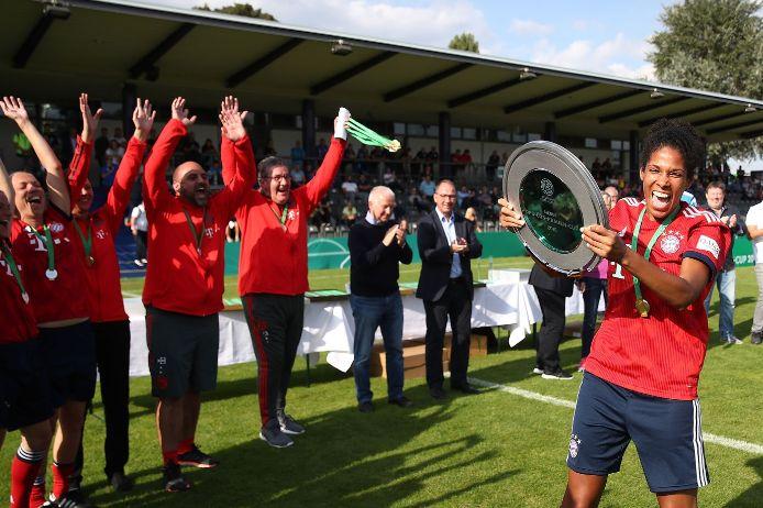 Sieger DFB Ü35-Cup der Frauen: FC Bayern München mit Navina Omilade