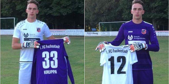 Tayrell Kruppa vom FC Fuchsstadt