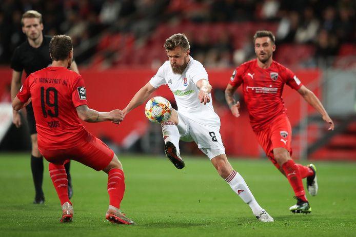 Spielszene 3. Liga FC Ingolstadt - Unterhaching 0:0 2019