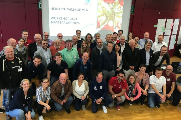 DFB Masterplan 2024 Workshop-Teilnehmer 2019