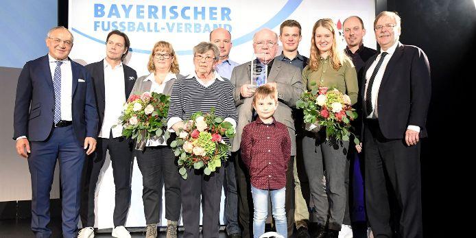 Familie Heinze ist Bayerns Fußbalfamilie 2019