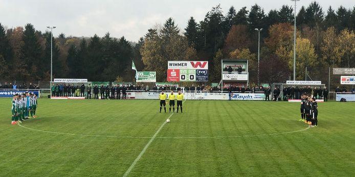 Gedenkminute Robert Enke Schalding-Heining VfB Eichstätt