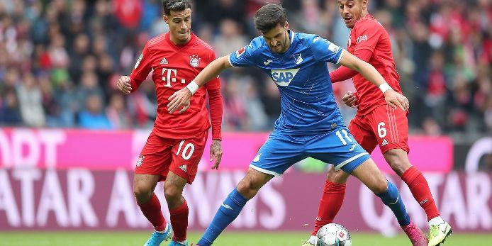 Spielszene FC Bayern München gegen Hoffenheim 2019-20