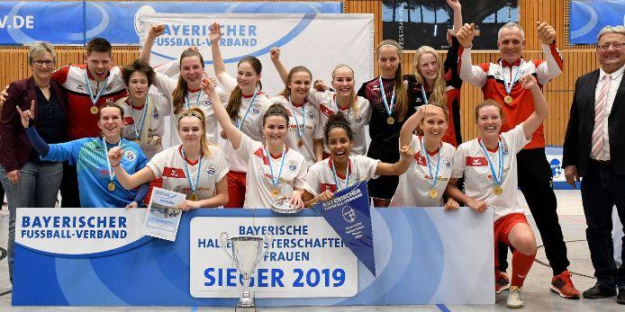 Bayerischer Hallenmeister Frauen TSV Gilching/Argelsried