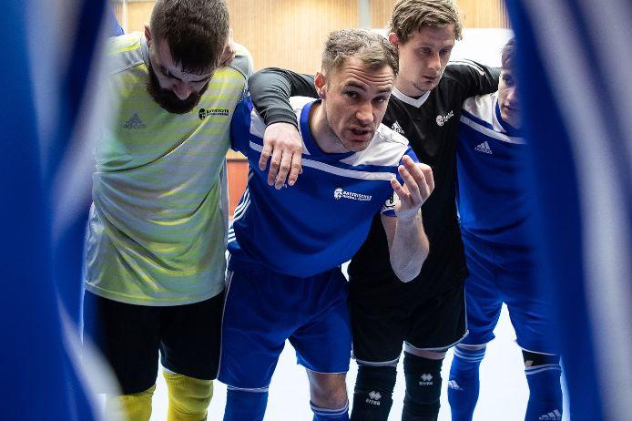 Alexander Günter führte die BFV-Futsaler beim Landesauswahlturnier 2020 als Kapitän zum Titel.