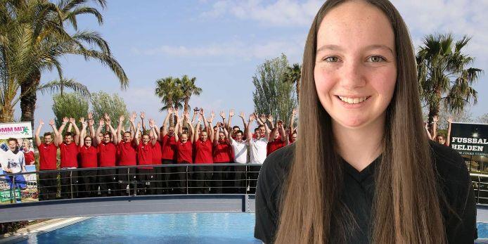 Judith Huber vom TSV Vilslern fährt nach Barcelona zur Fußballhelden-Bildungsreise.