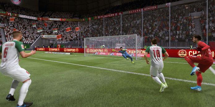 Spielszene bei FIFA 20 auf der Playstation 4