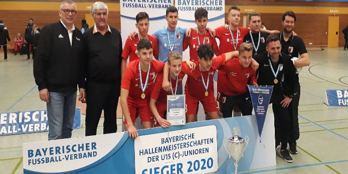 FC Augsburg U15-Hallenmeister 2020