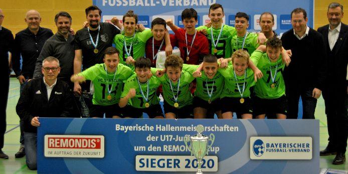 FC Stätzling Bayerischer Hallenmeister U17-Junioren