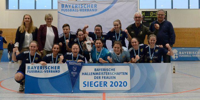 Frensdorf Bayerischer Hallenmeister der Frauen 2020