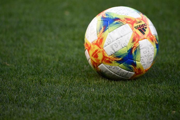 Spielball der Marke Adidas.