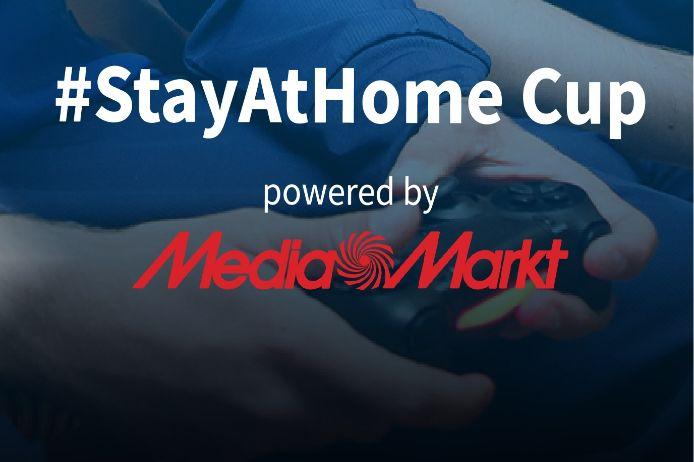 Logo #StayAtHome Cup powered by MediaMarkt