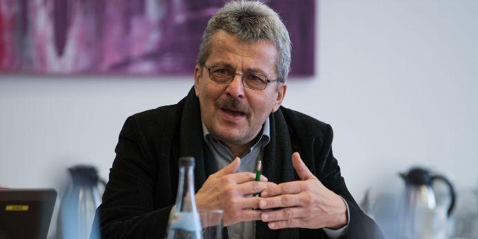 Verbandsspielleiter Josef Janker