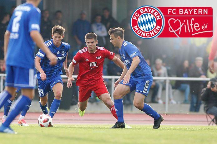 FC Bayern Hilfe Logo Regionalliga Bayern