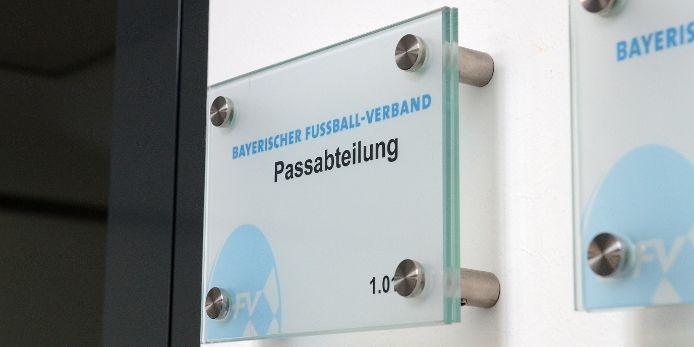 Passabteilung beim Bayerischen Fußball-Verband (BFV)