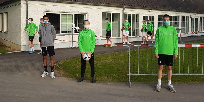 Der TSV Grünwald hat den eingeschränkten Trainingsbetrieb wieder aufgenommen.