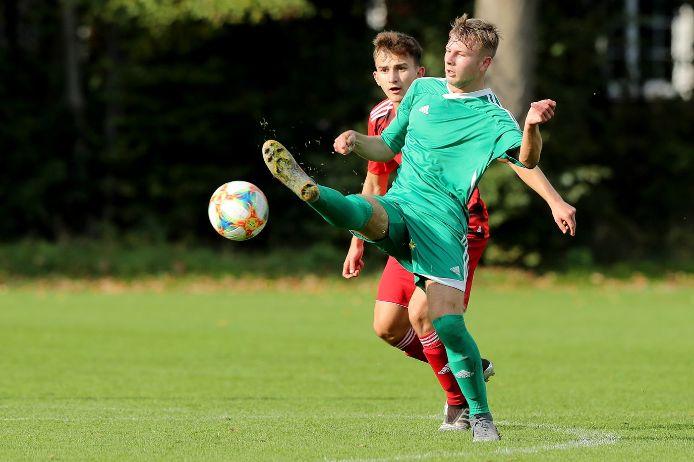Spielszene beim U18-Sichtungsturnier des DFB im Jahr 2019