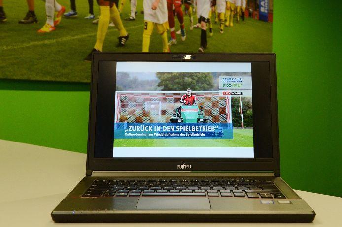 Der BFV informierte mit Online-Seminaren zur bevorstehendenWiederaufnahme des Wettkampfspielbetriebs