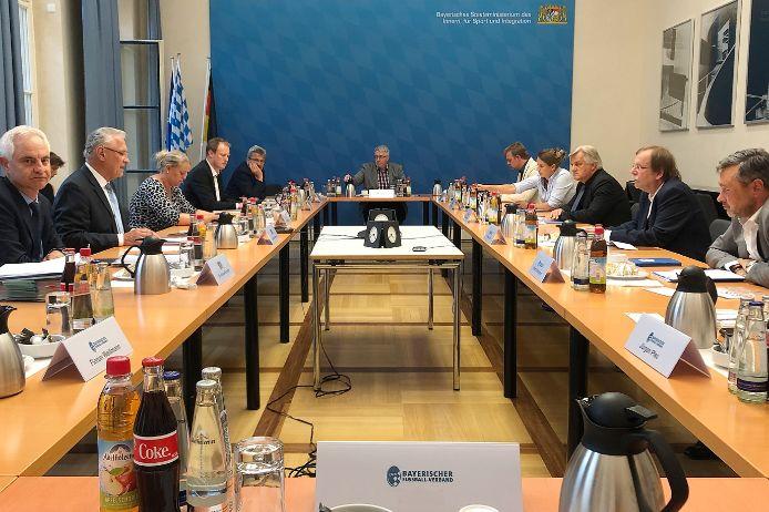 Treffen im Innenministerium