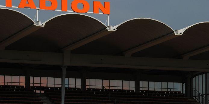 Stadion Bayreuth Tribüne Detail
