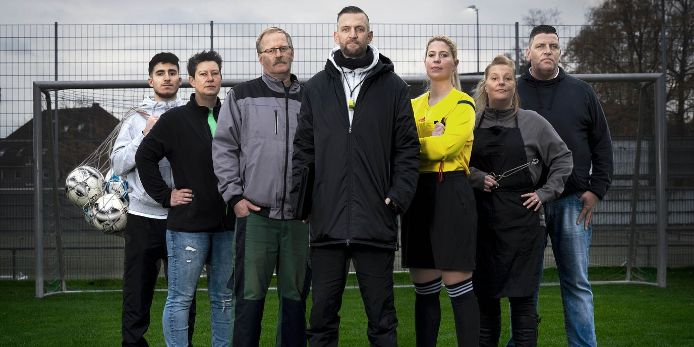 Feature-Bild zur Aktion Ehrenamt des Deutschen Fußball-Bundes (DFB).