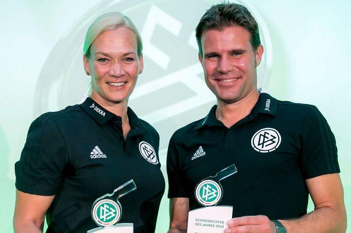 Bibiana Steinhaus und Dr. Felix Brych.