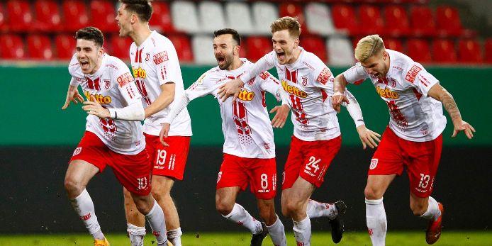 Der SSV Jahn Regensburg steht nach dem Sieg über den 1. FC Köln im Viertelfinale des DFB-Pokal-Wettbewerbs.