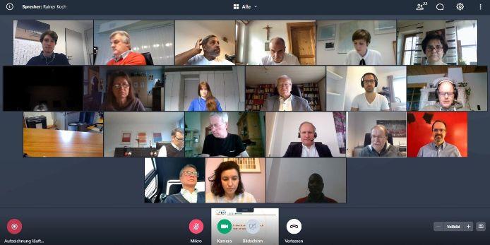 Ratssitzung BFV-Sozialstiftung