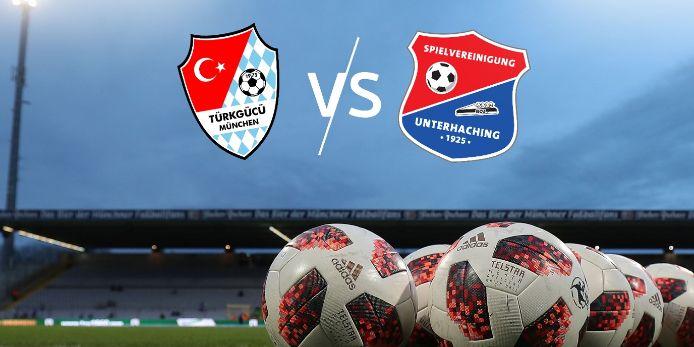 BFV überträgt die Toto-Pokal-Partie zwischen Türkgücü München und SpVgg Unterhaching im Livestream.