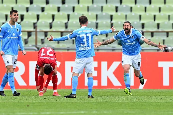 Der TSV 1860 München hat Türkgücü München mit 2:0 (0:0) bezwungen.