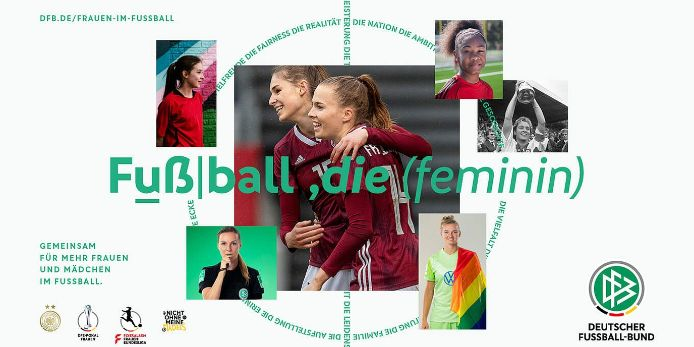 Kampagne Frauenfußball