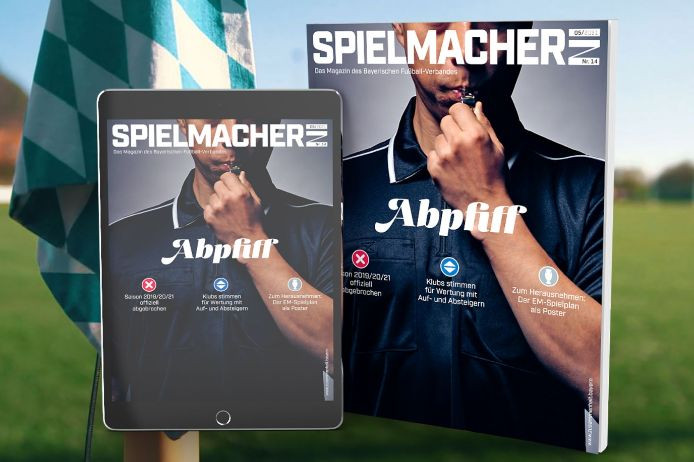Cover BFV-Magazin Spielmacher*in, Titel