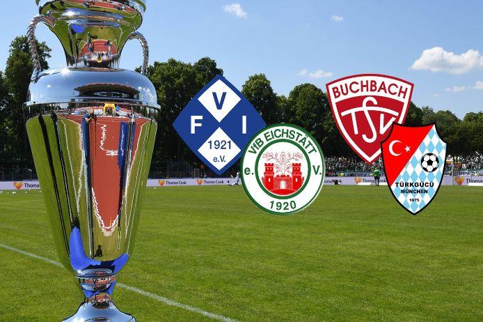 Die Halbfinal-Partien im bayerischen Toto-Pokal-Wettbewerb 2020/21.