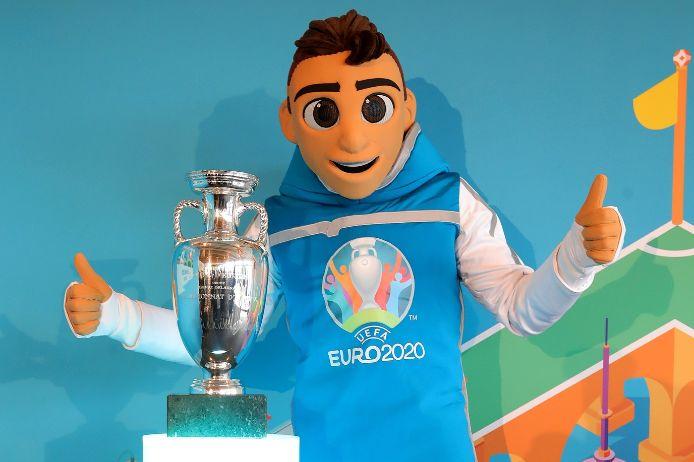 Skillzy, das Maskottschen der EURO 2020.