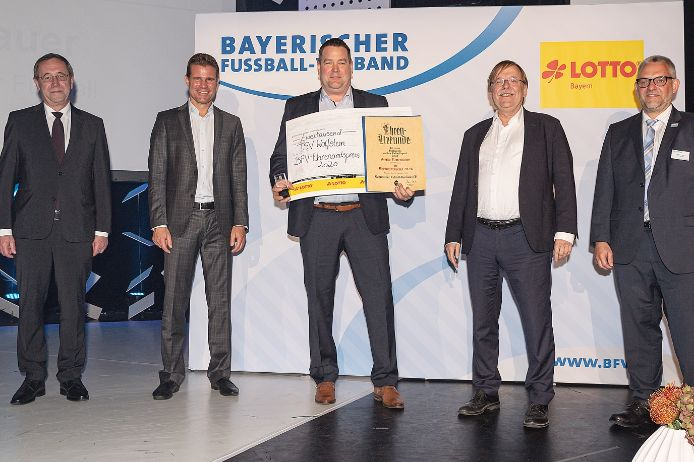 25. Ehrenamtspreisverleihung des BFV.