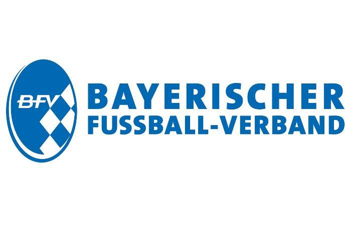 Das offizielle Logo des Bayerischen Fußball-Verbandes in Positiv