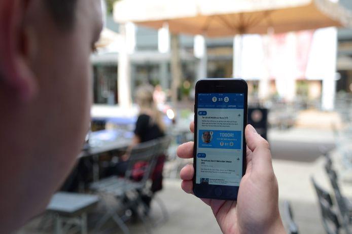 BFV App, iPhone, Handy