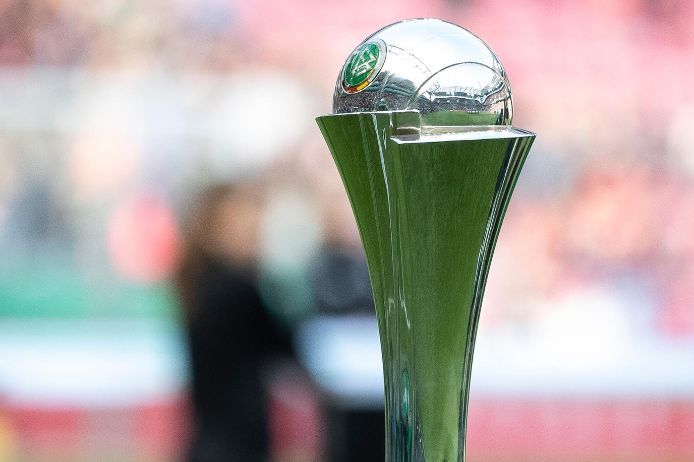 Der DFB-Pokal der Frauen.